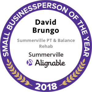 Alignable 2018 Best Businessperson Award Emblem
